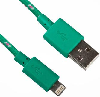 Кабель Liberty Project USB – Apple Lightning 0L-00000319 Green
