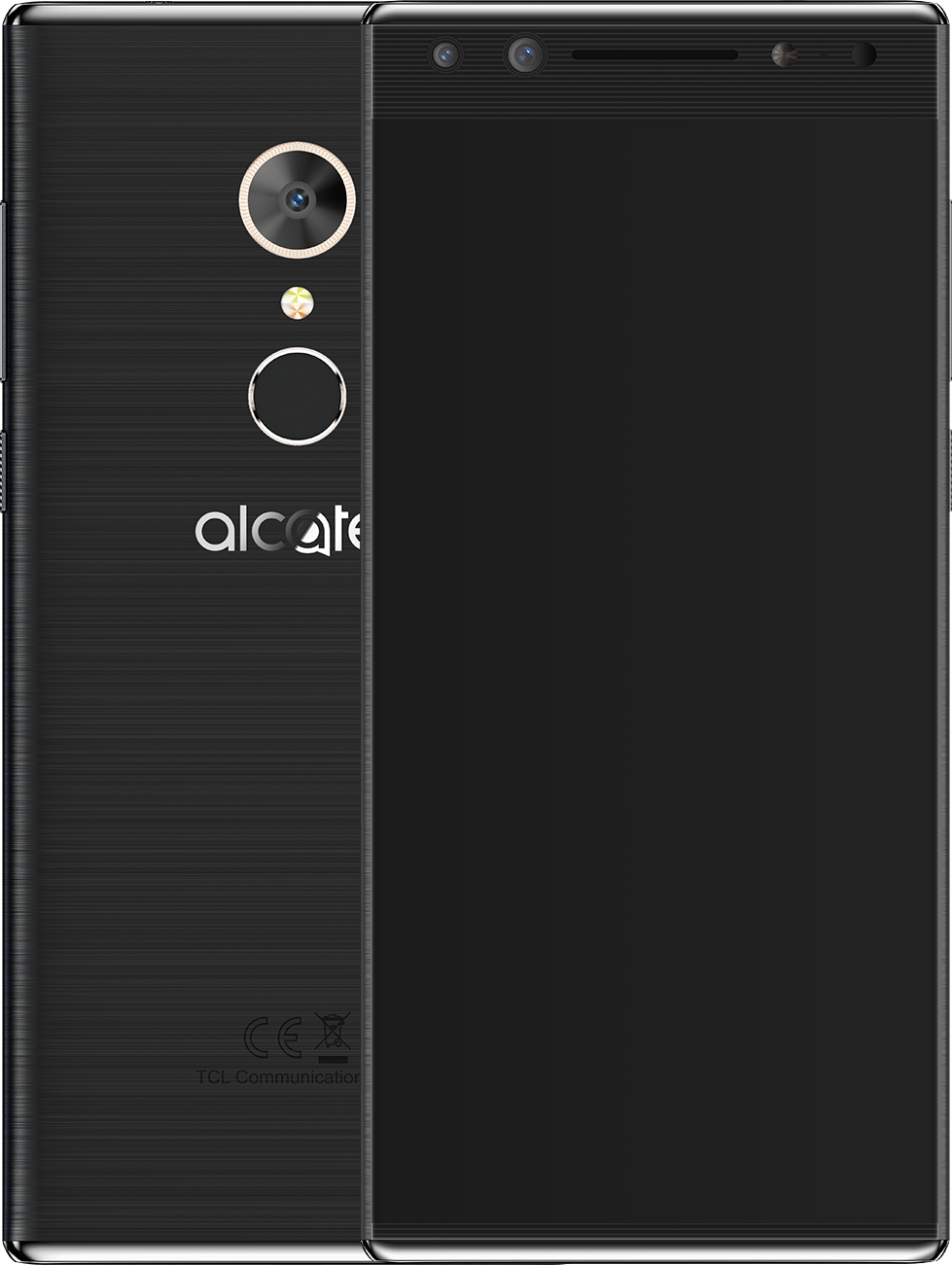 Смартфон Alcatel 5 5086D Metallic Black смартфон