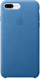 Клип-кейс Apple Leather Case для Apple iPhone 7 Plus Sea Blue