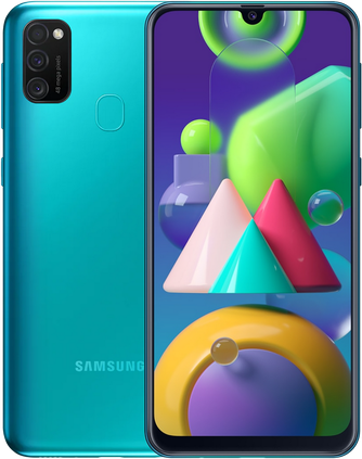 Смартфон Samsung — Galaxy M21 64GB Green