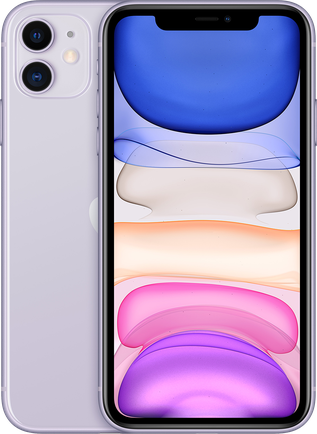 Смартфон Apple — iPhone 11 64GB (2020) Фиолетовый